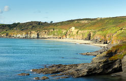 Kenneggy Sand Cornwall England near Praa Sands and Penzance Royalty Free Stock Photography