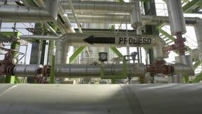 Kennen der Raffinerie vom Innere