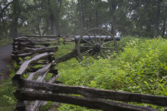 Kennesaw山全国战场公园 库存图片