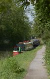 Kennet和Avon运河在Devizes 英国 免版税库存图片