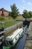 Kennet and Avon Canal at Devizes. England Stock Photography
