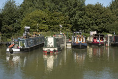 Kennet and Avon Canal at Devizes UK Stock Photography