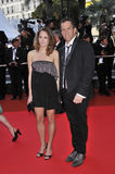 Kenneth Cole. Designer Kenneth Cole & date at premiere for Synecdoche, New York at the 61st Annual International Film Festival de Cannes.  May 23, 2008  Cannes Royalty Free Stock Photo