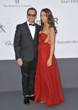 Kenneth Cole. CANNES, FRANCE - MAY 23, 2013: Kenneth Cole & daughter at amfAR's 20th Cinema Against AIDS Gala at the Hotel du Cap d'Antibes, France Stock Photo