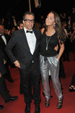 Kenneth Cole. CANNES, FRANCE - MAY 22, 2013: Designer Kenneth Cole & daughter Kate at gala premiere for Only God Forgives at the 66th Festival de Cannes Stock Photos