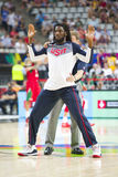 Kenneth Faried. Of USA Team in action at FIBA World Cup basketball match between USA and Mexico, final score 86-63, on September 6, 2014, in Barcelona, Spain Stock Images