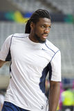 Kenneth Faried. Of USA Team at FIBA World Cup basketball match between USA and Mexico, final score 86-63, on September 6, 2014, in Barcelona, Spain Stock Images