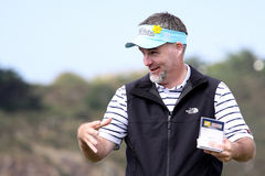Kenneth Ferrie at the Pleneuf Val Andre golf Challenge 2013 Stock Image