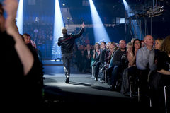 Kenneth Potempa. Performing at the Danish Song Contest 2012 Stock Image