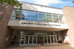 Kenneth R Williams Auditorium an WSSU lizenzfreie stockbilder
