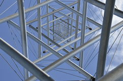Kenneth Snelson's Needle Tower Stock Image