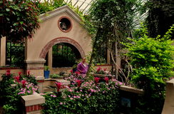 Kennett Square, PA: Children`s Garden at Longwood Gardens Stock Photography