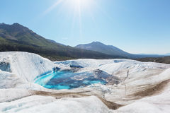 Kennicott冰川 免版税库存照片
