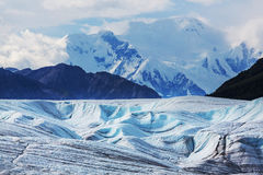 Kennicott glacier Royalty Free Stock Photo