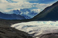 Kennicott glacier Royalty Free Stock Images