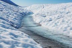 Kennicott glacier Royalty Free Stock Photos