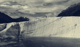 Kennicott glacier Stock Image