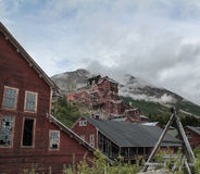 Kennicott Mine. Old ruins of a copper mine in Kennicott Alaska Royalty Free Stock Photography