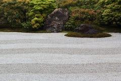 Kennin籍日本庭院在京都 库存照片