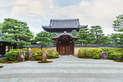 Kennin-ji Temple in Kyoto, Japan Stock Image