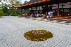 Kennin-ji Temple in Kyoto, Japan Royalty Free Stock Images