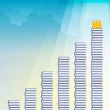 Kennis aan Succes Stock Fotografie