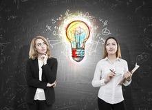 Kennis en ideeënconcept Stock Afbeeldingen
