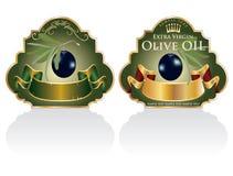 Kennsätze der schwarzen Oliven stock abbildung