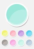 Kennsatzfamilie-Pastellfarbe Stockfotos