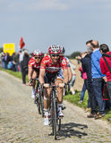 Kenny Dehaes- Paris Roubaix 2014 Royalty Free Stock Image