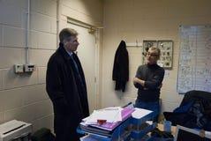 Kenny MacAskill MSP Fotografia Stock Libera da Diritti