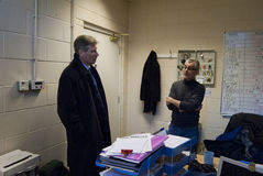 Kenny MacAskill MSP Royalty Free Stock Photo