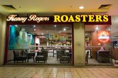 Kenny Rogers Roasters restaurang royaltyfri bild