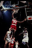 Kenny Smith, Houston Rockets Royalty-vrije Stock Foto