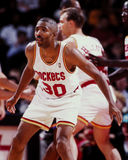 Kenny Smith Houston Rockets Fotografering för Bildbyråer