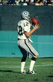 Kenny Stabler. Oakland Raiders QB Kenny Stabler. (Image taken from a color slide Stock Image