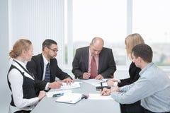 Kennzeichnen Verträge Lizenzfreies Stockfoto
