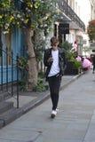 Keno Ludwig podczas Londyńskiego moda tygodnia zdjęcia royalty free