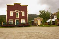 Keno Mining Museum. The Keno mining museum in the town of Keno, Yukon, Canada royalty free stock photos