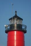 Kenosha Pier Lighthouse Stock Photo
