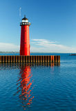 Kenosha, Wisconsin Pierhead Light Stock Photo