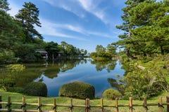 Jardin kenroku en photo stock image du nature pierre for Jardin kenrokuen en kanazawa