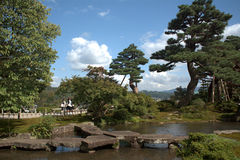 Kenroku Garden, Kanazawa, Japan Royalty Free Stock Photo