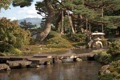 Kenroku Garden, Kanazawa, Japan Stock Images