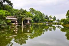 Kenrokuen庭院 库存图片