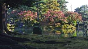Kenrokuen庭院 库存照片