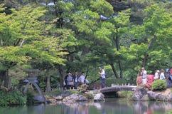 Kenrokuen Garden Kanazawa Japan Royalty Free Stock Photography