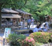 Kenrokuen famous Japanese Garden Kanazawa Japan  Royalty Free Stock Image
