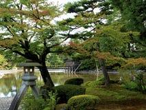 Kenrokuen-Garten Stockfotografie