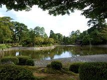 Kenrokuen-Garten Lizenzfreie Stockfotos